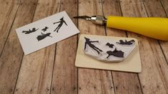Hey, I found this really awesome Etsy listing at https://www.etsy.com/listing/205118901/peter-pan-hand-carved-rubber-stamp