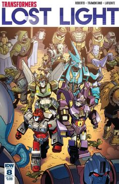 #Transformers: Lost Light Issue #8 Full Comic Preview