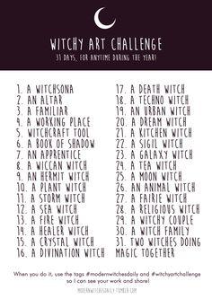 Witchy Art Challenge - Inktober by Vicky-Pandora Inktober, Drawing Prompt, Drawing Tips, Drawing Ideas, Drawing Drawing, Magic Drawing, Drawing Journal, Drawing Stuff, Glitch