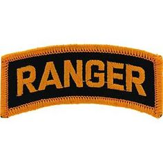 PATCH, ARMY RANGER TAB