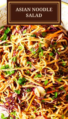 This Asian Noodle Salad with thinly sliced red cabbage, julienned carrots and radishes in spicy peanut dressing is ideal for picnics, barbecues or a delicious work lunch. The best part is it could be made ahead as it keeps well in the fridge and becomes even more flavourful!