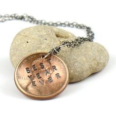 graduate stamped penny jewelry - Google Search