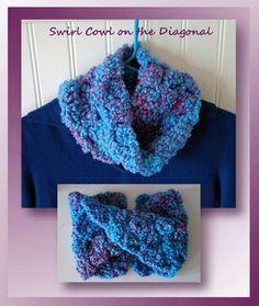 "I added ""Swirl Cowl on the Diagonal - Free Cowl Pattern"" to an #inlinkz linkup!http://www.crochetmemories.com/blog/swirl-cowl-on-the-diagonal/"
