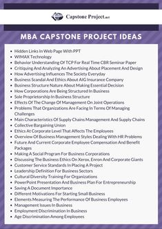 70 Best Capstone Project Ideas images in 2013 | Capstone
