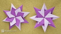 Enrica Dray Origami Star Folding Directions