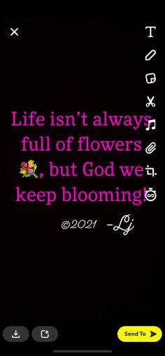 Self Made Quotes, Bloom, God, Life, Dios, Allah, The Lord