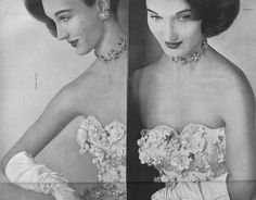 September Vogue 1952    Photographed by Erwin Blumenfeld