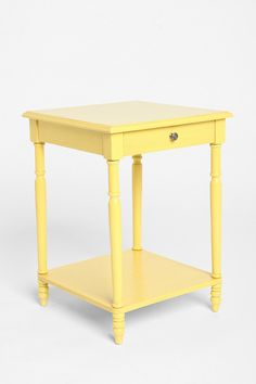 Wire side table wire side table spaces and apartments genevieve side table in yellow greentooth Gallery