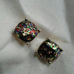 Glitter earrings Kate spade look alike kate spade Jewelry Earrings
