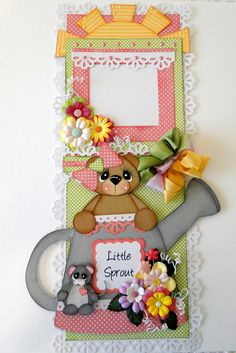 Perfect for a scrapbook border...it also has a frame so you can add a picture...currently for sale on ebay