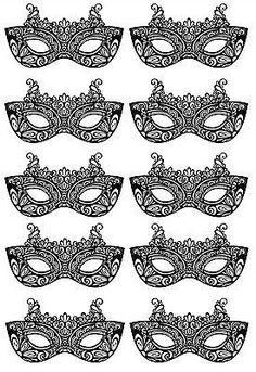 Edible Venetian Masks