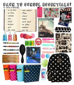 Back to School Essentials A fashion look from August 2013 featuring Madden Girl backpacks With Love From CA hair accessories and Kate Spade tech accessories. Browse and shop related lo The post Back to School Essentials appeared first on School Diy. Middle School Supplies, School Kit, Back To School Supplies, High School Hacks, Life Hacks For School, School Survival Kits, School Suplies, Diy Back To School, Back To School Essentials