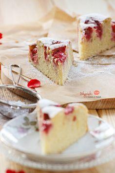 Szybkie ciasto z truskawkami/ quick&easy strawberry cake