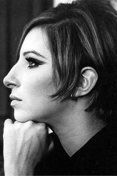 Barbra Streisand on the set of Funny Girl, photographed by Pierluigi, New York City, 1968.
