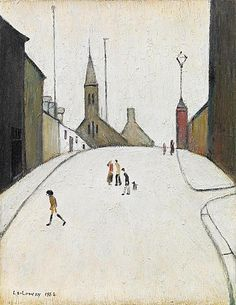Laurence Stephen Lowry, R. 16 x 12 in x cm). Estimate This lot is offered in Modern British & Irish Art Evening Sale on 22 November 2017 at Christie's in London Salford, Irish Art, English Artists, Thing 1, Naive Art, Art For Art Sake, Outsider Art, Illustrations And Posters, Urban Landscape