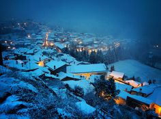 Landscape in winter  (photo credit to Christian Mastrolorenzo)