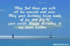 Birthday Wishes For Brother, May Birthday, Christian Greetings, Ava Gardner, God Bless You, Blessed, Greeting Cards, Joy, Words