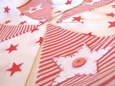 Cheerful Hand Appliqued Christmas bunting- CHRISTMAS STAR, just over 2m60 long, perfect Christmas decoration or present