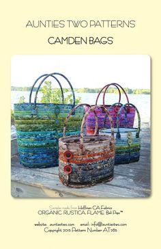 Aunties Two Camden Bags Batik Handbag by AliceInStitchesArts