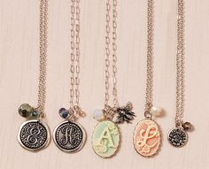 DIY Jewelry Making - Elegant Necklaces from the Monogram Collection