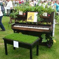 piano garden - Google Search