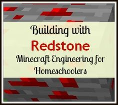 Building with redstone is an advanced concept in Minecraft. After mining redstone underground, the dust can be used to create wires that carry power. This enables players to build a wide range of m… Stem For Kids, Science For Kids, Minecraft School, Minecraft Baby, Minecraft Activities, Minecraft Redstone, Summer Camps For Kids, Educational Websites, Elementary Math