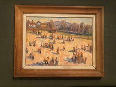 Bærumsmaleren Gøsta Munsterhjelm - ukjent oljemaleri til salgs Vintage World Maps, Paintings, Art, Pictures, Art Background, Paint, Painting Art, Kunst, Performing Arts