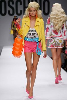 Moschino Milan SS 2015 Inspired by Barbie