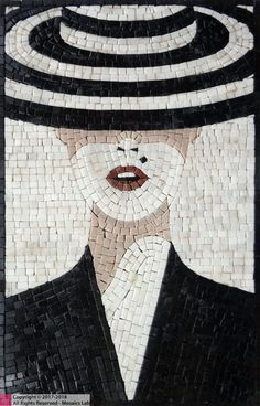 Holly Goes Lightly Mosaic Design Marble Tile Mosaic Design, Custom Mosaic Tile Artwork, Contemporary Marble Mosaic Tiles Design – Mosaics Lab Mosaic Artwork, Mosaic Wall Art, Marble Mosaic, Tile Art, Mosaic Glass, Mosaic Mirrors, Tile Murals, Glass Art, Sea Glass