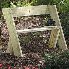 A Simple Garden Banch To Make Diy
