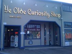 Ye Olde Curiosity Shop is a museum and gift shop in Seattle Washington. Home of the weird and freaky.