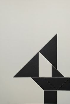 installation - abstractly spell out the word UNFOLD