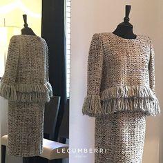 L E C U M B E R R I atelier  Traje de dos piezas en tweet de lana y seda #lecumberriatelier #lecumberriceremonia #madrina #madrinas #pretaporter #tailoring #ceremonia #tweet #bodas2016 #bodas #boda #tweedjacket