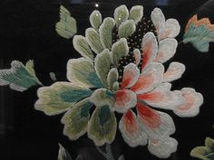 Chinese Silk Embroidery.