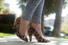 Floral  Leopard