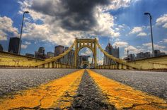 Because you have to stop and admire this industrial beauty every time you try to get across the rivers. | 26 Ways Pittsburgh Ruins You For Life