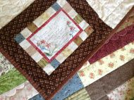 Three friends quillt Picnic Blanket, Outdoor Blanket, Three Friends, Pot Holders, Embroidery, Needlework, Hot Pads, Potholders, Drawn Thread