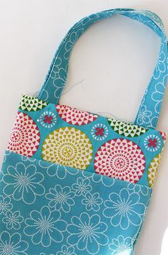 Easy tote bag tutorial for kids | Skip To My Lou                                                                                                                                                                                 More