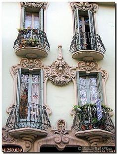 Barcelona's balconies...