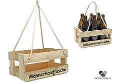 Bierträger - Flaschenträger - Männerhandtasche - Getränkekorb - Sixpack - leer - | Möbel & Wohnen, Feste & Besondere Anlässe, Geschenkverpackung | eBay!