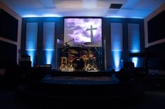 Small church stage design