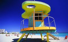South Beach Lifeguard Station Top 10 things to do in Miami