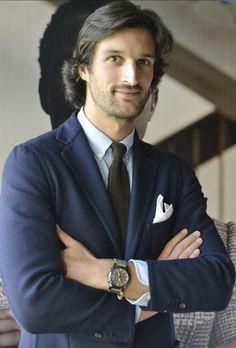 Rafael Medina, 20th Duke of Feria wearing the IWC Top Gun Miramar Chronograph
