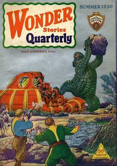 Wonder Quarterly ... Hugo Gernsback Editor