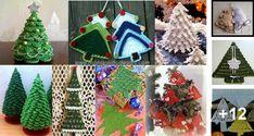 Diseños en Crochet de Árboles de Navidad para Tejer Christmas Crafts, Christmas Ornaments, Crochet Christmas, Christmas Ideas, Learn To Sew, Sewing, Holiday Decor, Fun, Etsy