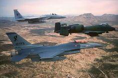 Eagle, Falcon and Warthog