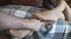 POV pantyhose feet and legs grope - Daniella In Pantyhose Videos