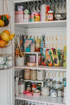 #HeaveninHighPark / Urban Walls Kitchen Pantry Half Moons