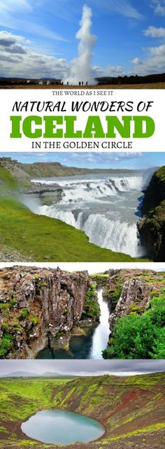 Natural Wonders of Iceland - On a Golden Circle Tour