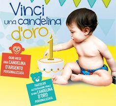 Vinci una candelina d'oro con Humana - http://www.omaggiomania.com/concorsi-a-premi/vinci-candelina-doro-humana/